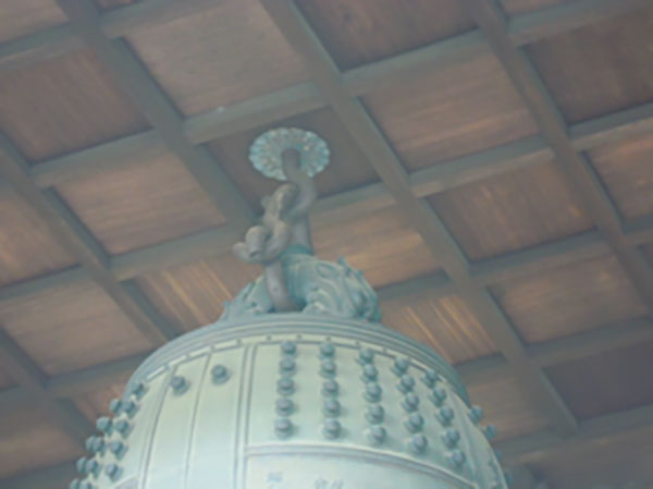 7.鐘堂天井部の鐘をつり下げる部分