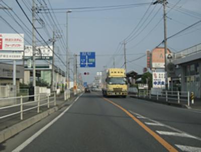国道17号_さいたま市_大成付近(熊谷方向)