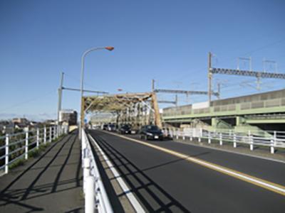 国道17号_さいたま市_戸田付近(大宮方向)