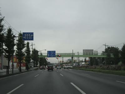新大宮バイパス_さいたま市西区三橋付近(上尾方面)