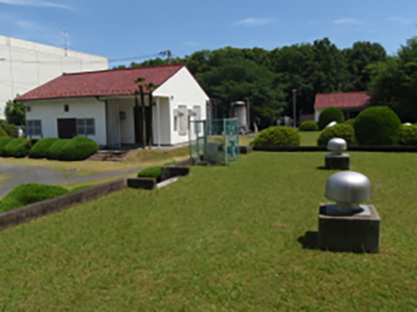 浄水場内部の写真