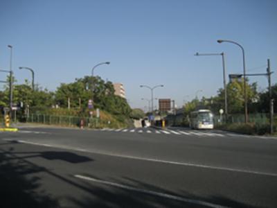 新大宮バイパス起点・東京都練馬北町八丁目交差点