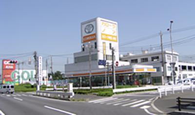 産業道路の終点_上尾日の出交差点